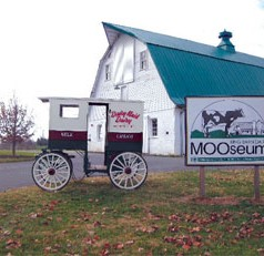 Unique new exhibits featured at king farm dairy mooseum Re-opening for the 2013 season on may 4