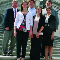 CAES students get a behind-the-scenes look at the policies that impact agriculture