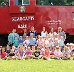 Inaugural Field Trip at Plant City's Railroad Museum a Success