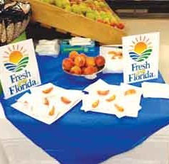 "Louisiana, Alabama, Mississippi Supermarkets Now Serving ""Fresh From Florida"" Peaches"