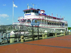 Savannah River sightseeing boat