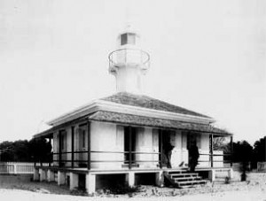 An archival photo of the Seahorse Key light station. Courtesy of Toni Collins.