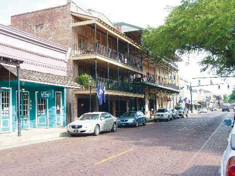 Downtown Natchitoches, LA