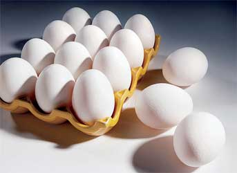 ARS developed a way to rapidly pasteurize eggs with radio frequency waves. Photo by Peggy Greb.