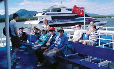 Caines, Australia - waiting to leave for Great Barrier Reef