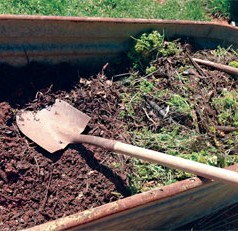 By recycling food and lawn scraps, you can create compost and feed the worms