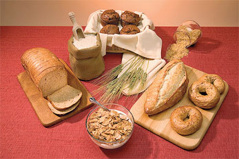Whole-grain products.